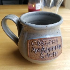 NEW Oregon An Altered State Pottery Coffee Mug